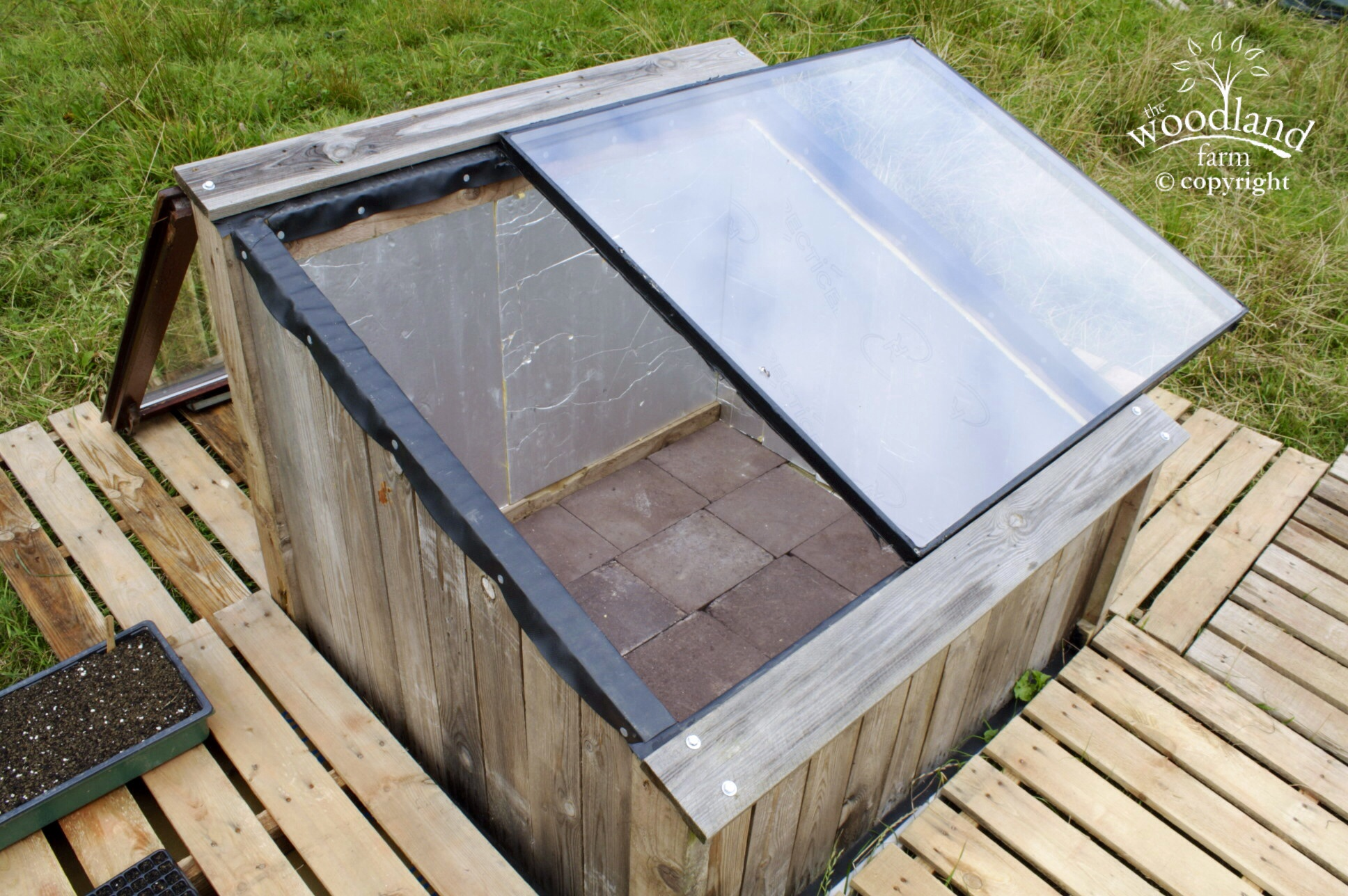 sliding glass cold frame design