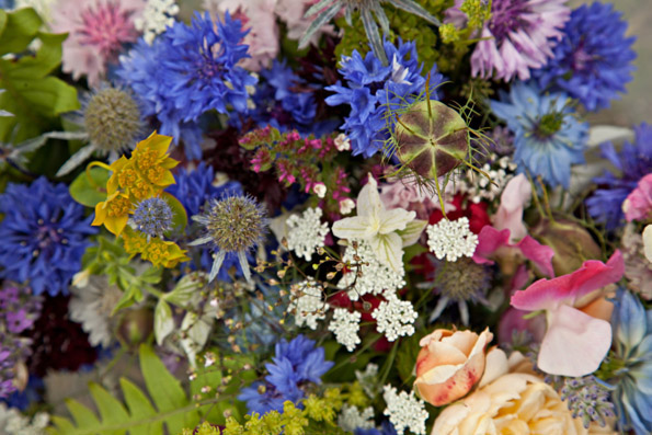 welsh wedding flowers