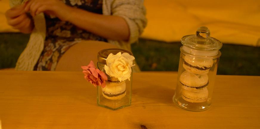 jars of macaroons