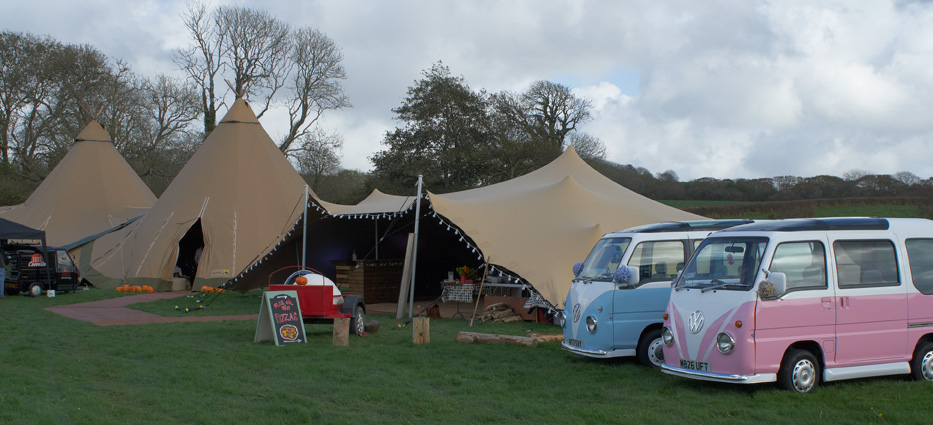 tipis by cwtch camping