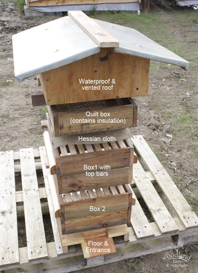 How a warre hive works