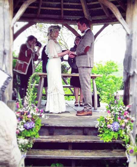 Festival Wedding in Wales